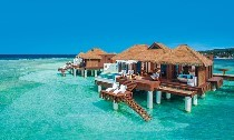 Over-the-Water Villa at Sandals Royal Caribbean Resort & Spa, Jamaica